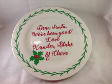 Load image into Gallery viewer, Christmas Eve Plates - Matilda & Jack