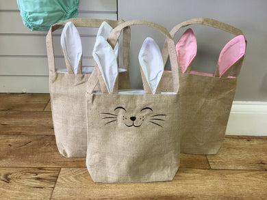 Bunny Ear Tote Bags