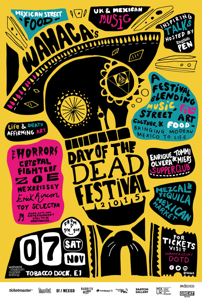 Wahaca celebrates Day of the Dead in style