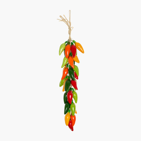 Wall hanging Jalapeno mexican chillies