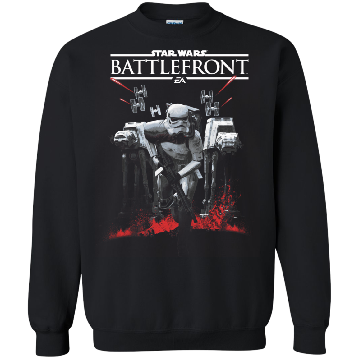 Battlefront Stormtrooper Charge Star Wars Shop Gifts T Shirts Hoodies Sweatshirts Tank Top
