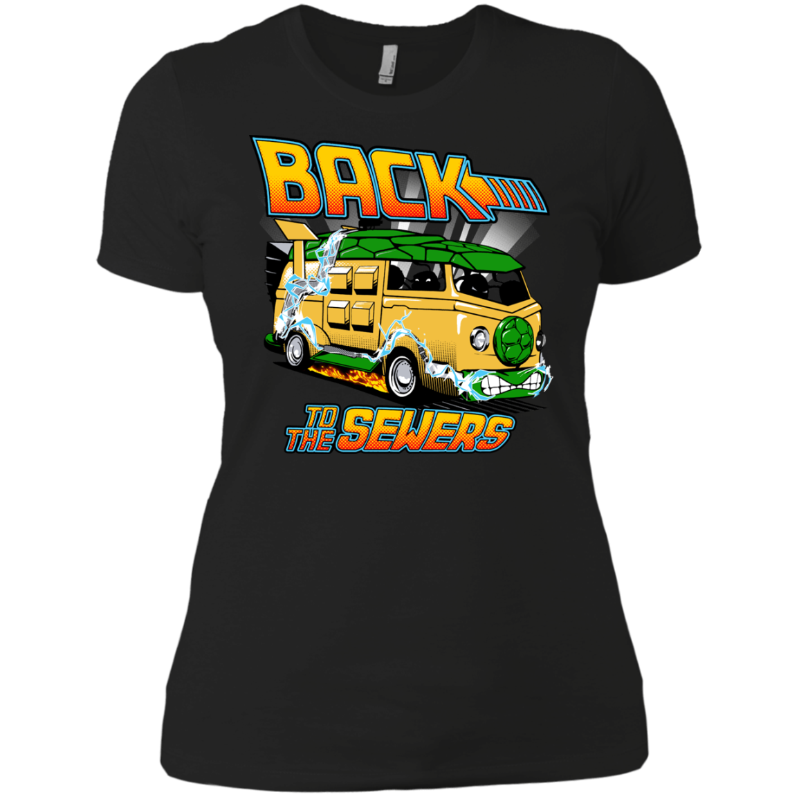 Back to the Sewers Teenage Mutant Ninja Squirtles T-Shirts - The Sun Cat