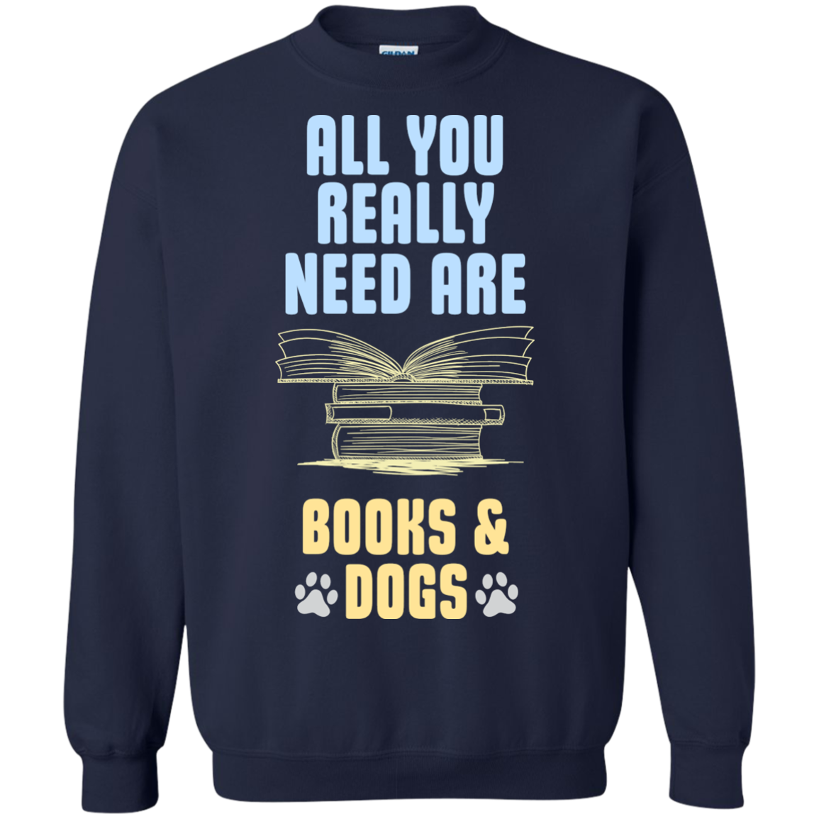 All You Really Need Are Books Amp T-Shirt Hoodie Long sleeve Sweatshirt - The Sun Cat