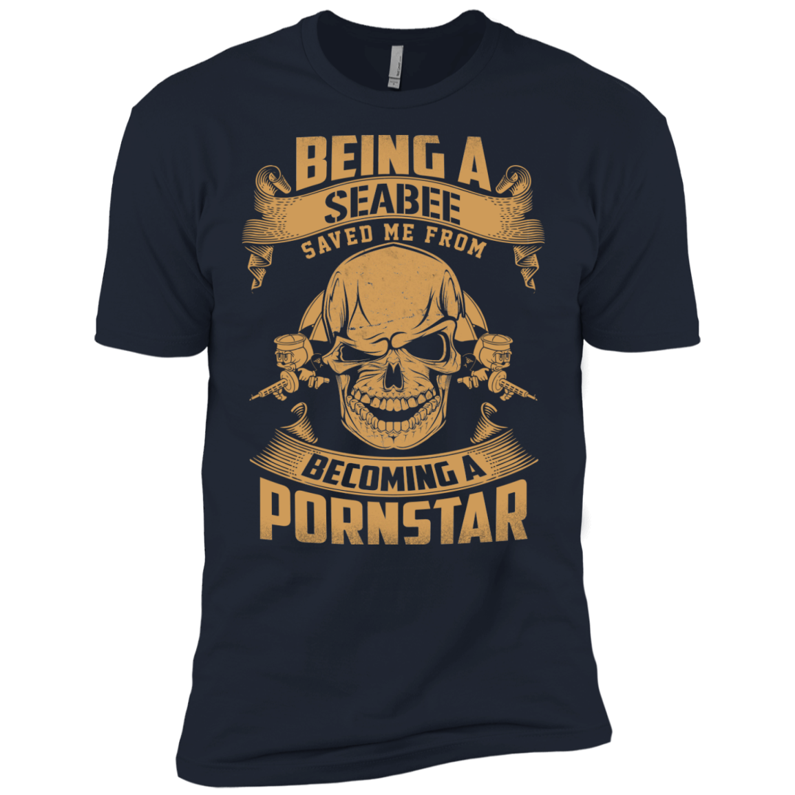 Being A Veteran Saved Me From Becoming A Pornstar TShirt - The Sun Cat