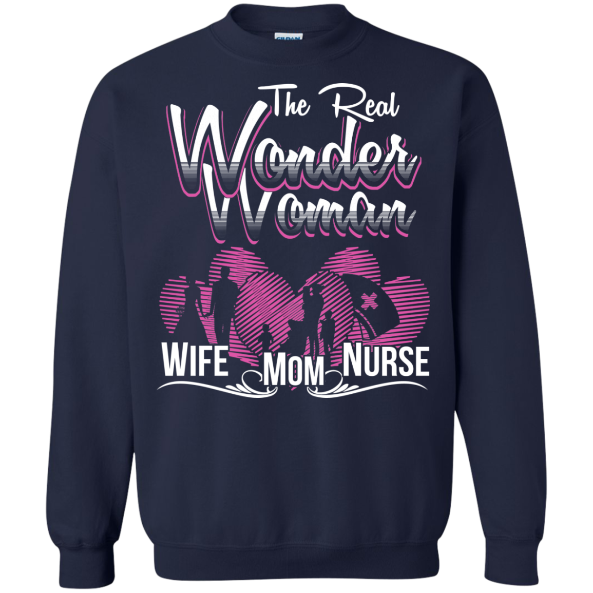 The Real Wonder Woman WIFE MOM NURSE
