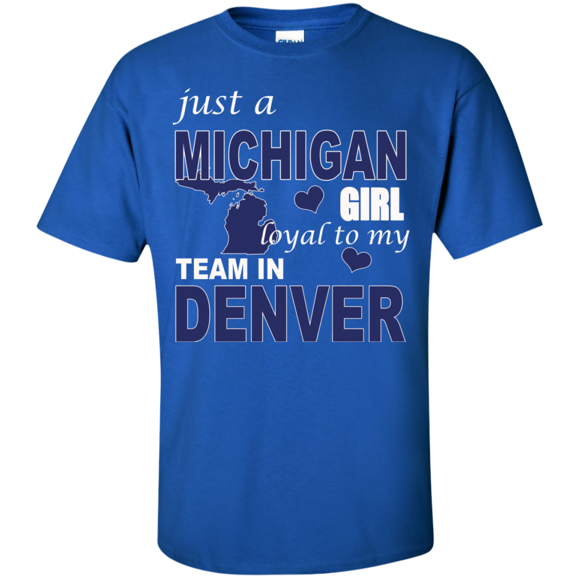 just a MICHIGAN Girl loyal to my Team in DENVER