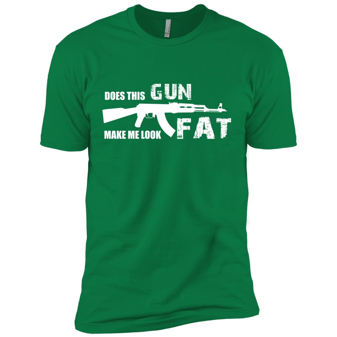 AK47 Does This Gun Make Me Look Fat T-SHIRTS & HOODIES - The Sun Cat