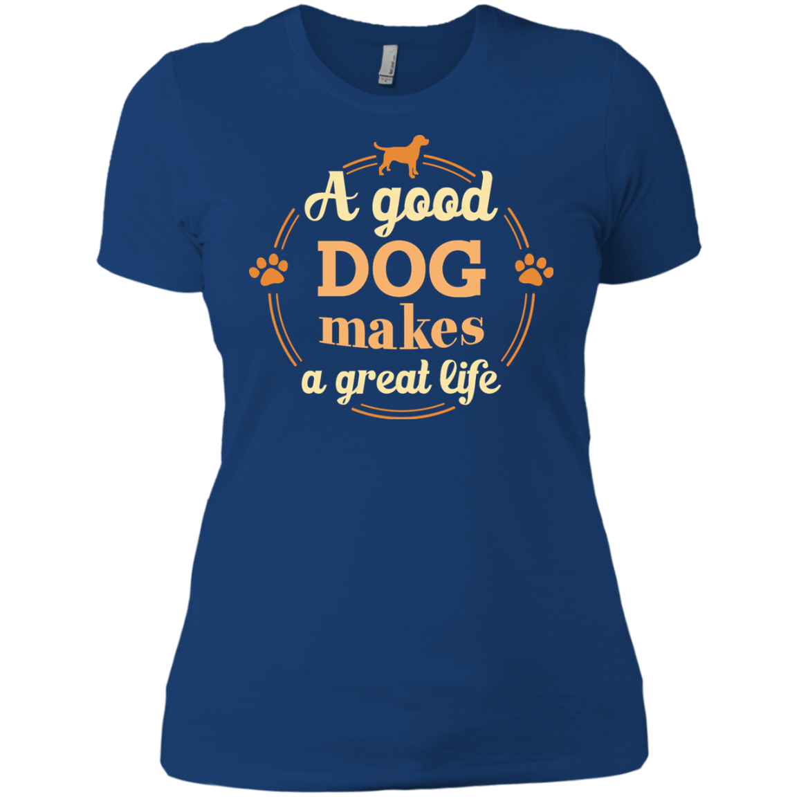 A Good Dog Makes A Great Life T-Shirt & Hoodie - The Sun Cat