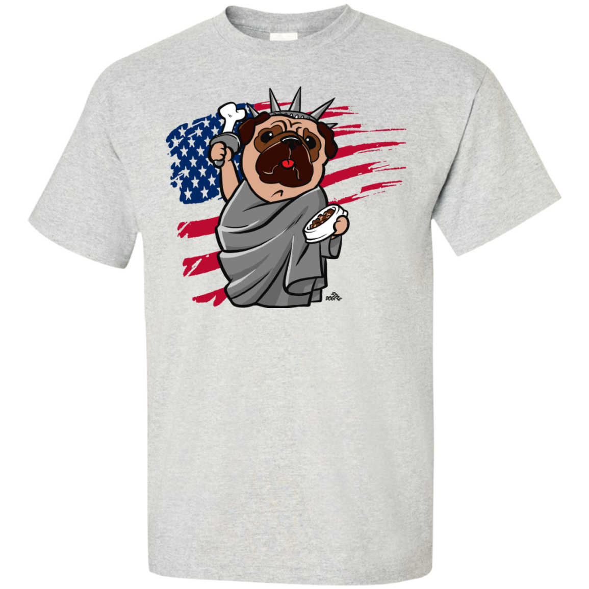 Independence Day Pug Pet Lover Shirt
