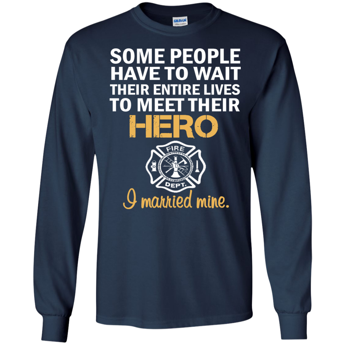 FIREFIGHTER'S WIFE Matching Family T-Shirts - The Sun Cat