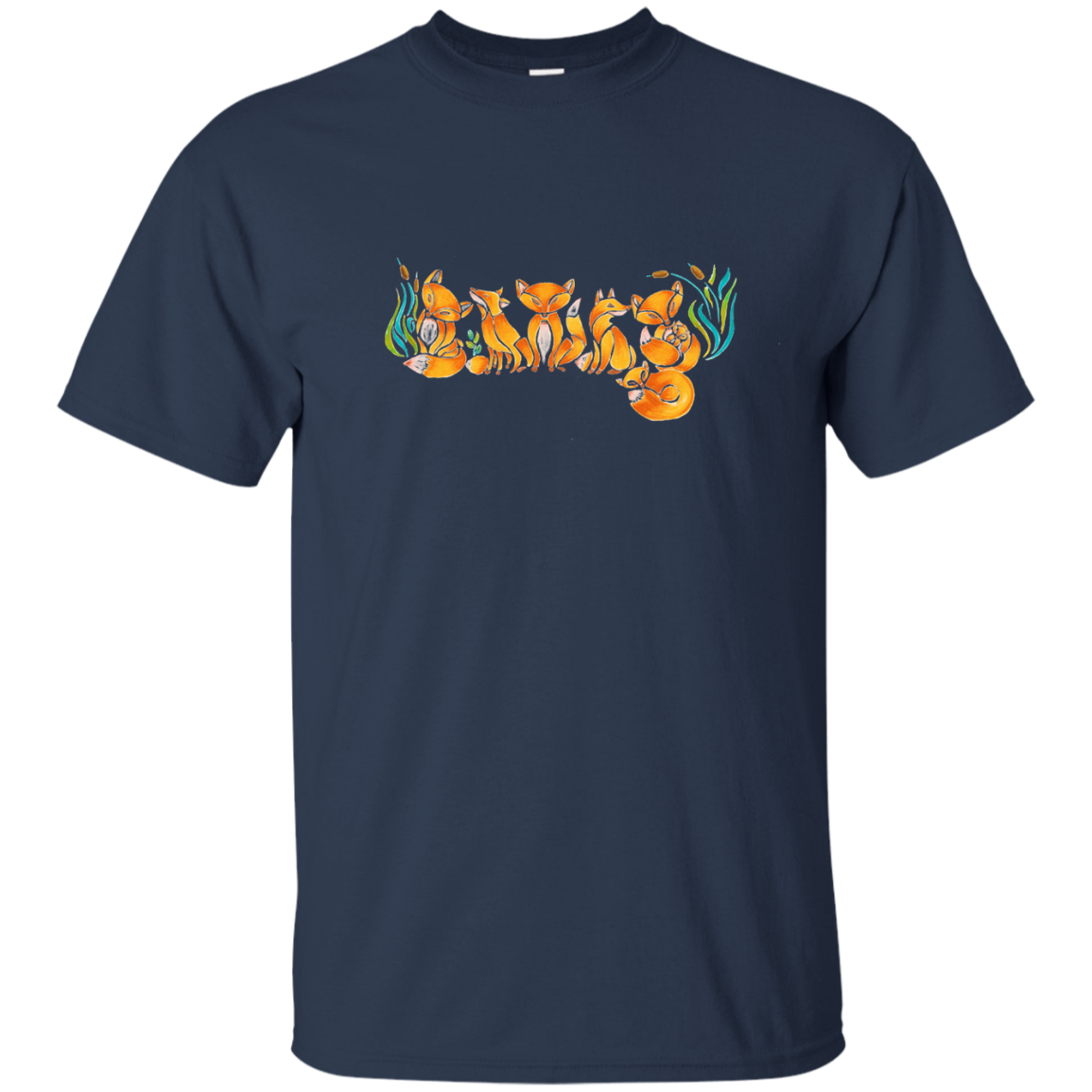 Family Fox Matching Family T-Shirts - The Sun Cat