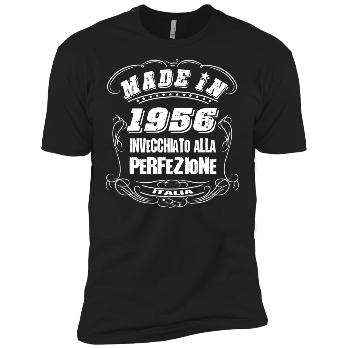 Made In 1956 T Shirt Made In 1956 Invecchia To Alla Perfezione T-Shirts - The Sun Cat