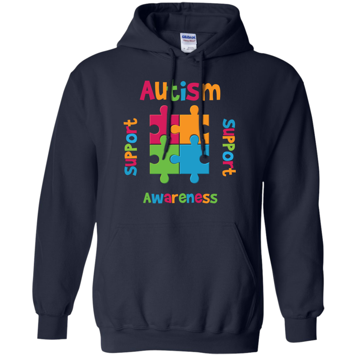 Autism Awareness T-SHIRTS HOODIES Support  Advocate  Love Educate - The Sun Cat