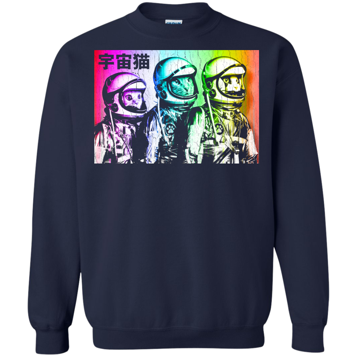 3 Astronaut Space Cats Sweatshirt T-Shirt & Hoodie - The Sun Cat