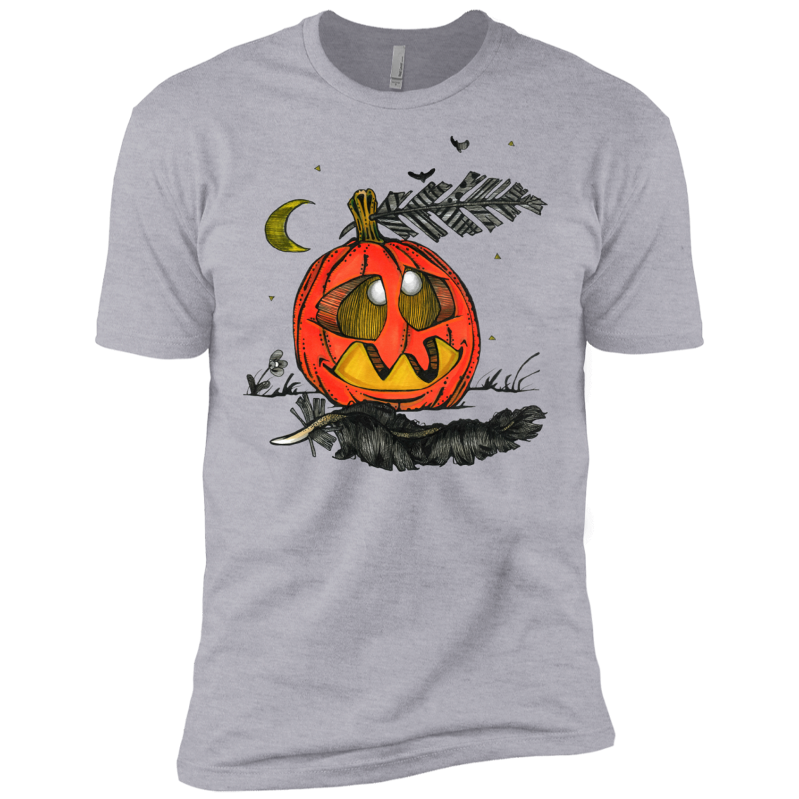 A little Pumpkin T-Shirt Hoodie Long sleeve Sweatshirt - The Sun Cat