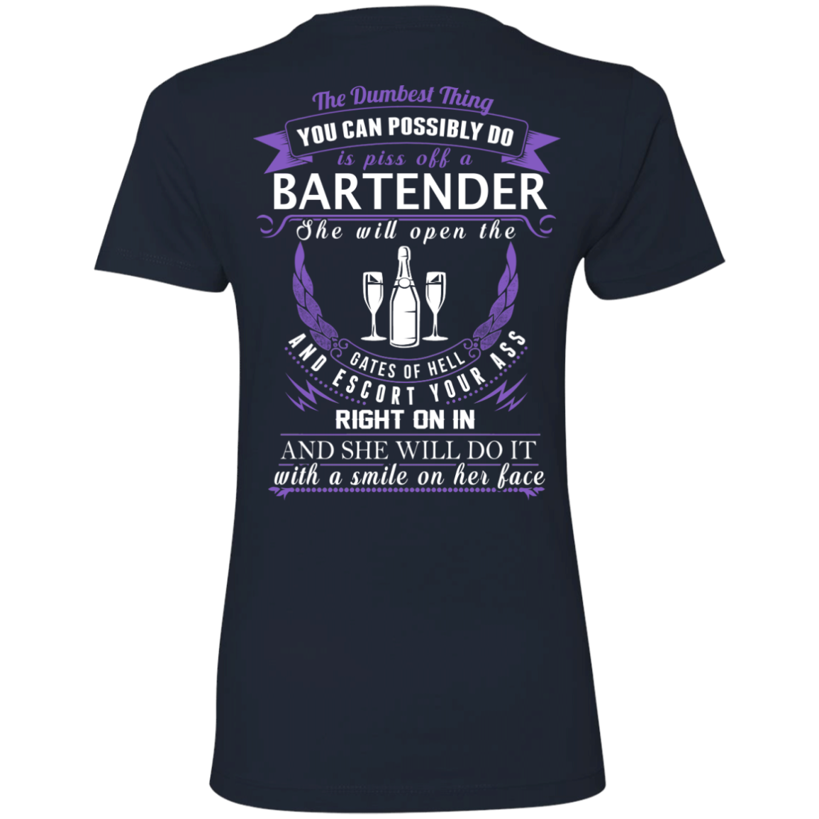 The Dumbest Thing...Bartender...With a smile on her face - TheSunCat.com - 10