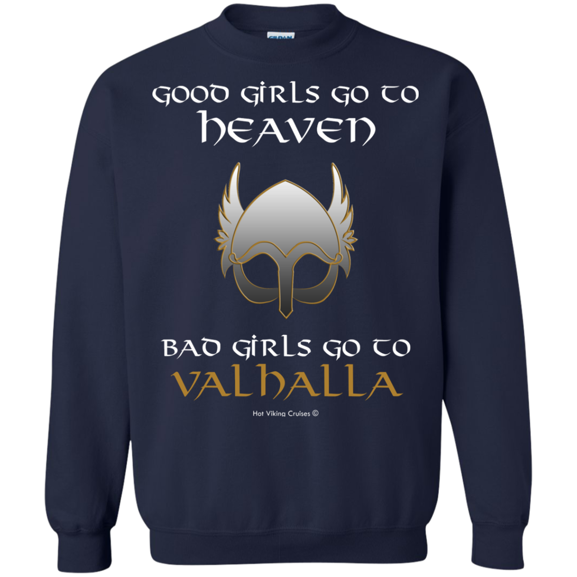 Bad Girls Go to Valhalla T-Shirt & Hoodie - The Sun Cat