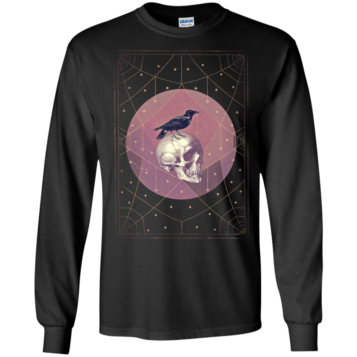 Crow and Skull T-Shirts, Hoodies - The Sun Cat