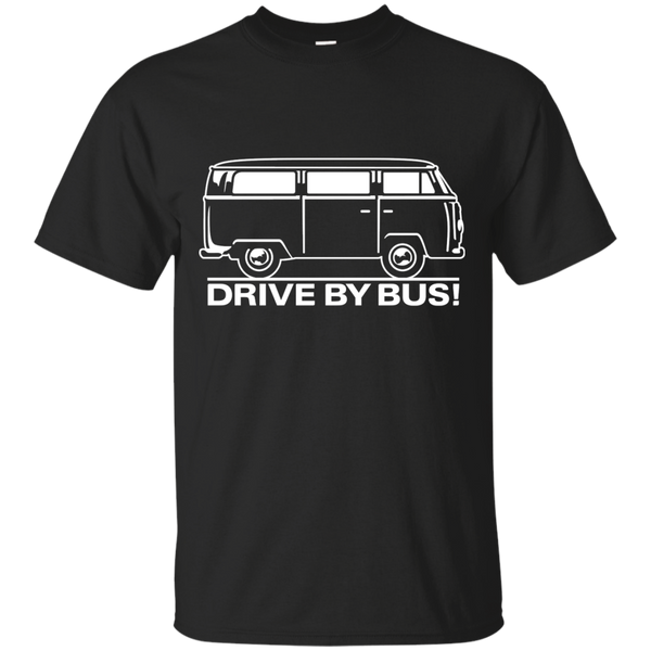 Drive by Bus 1 (white) Matching Family T-Shirts - The Sun Cat