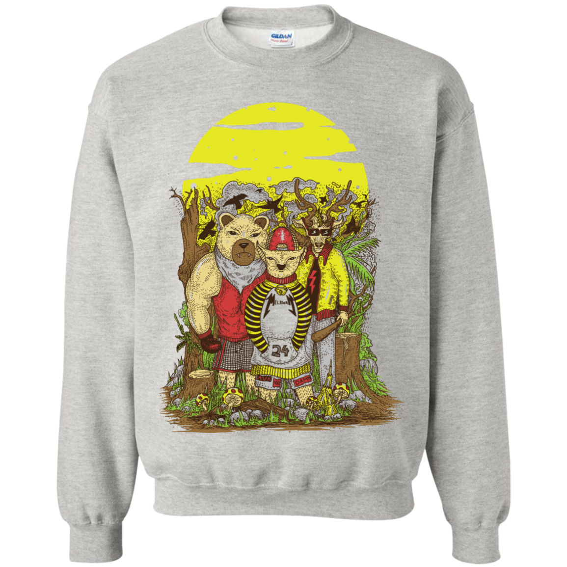 animal kingdom Sweatshirt T-Shirt & Hoodie - The Sun Cat