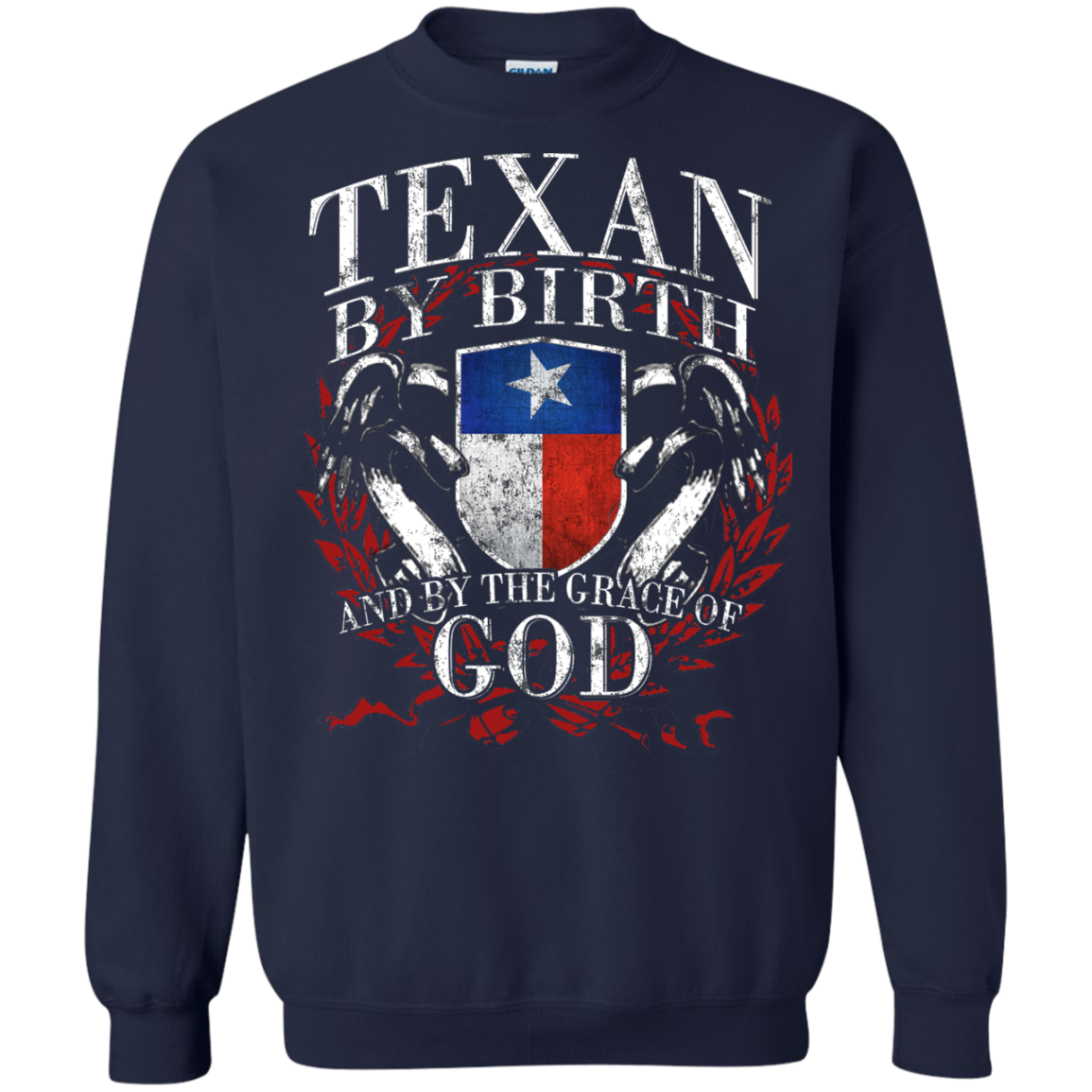 American By Birth, Texan By The Grace Of God Shirt - The Sun Cat