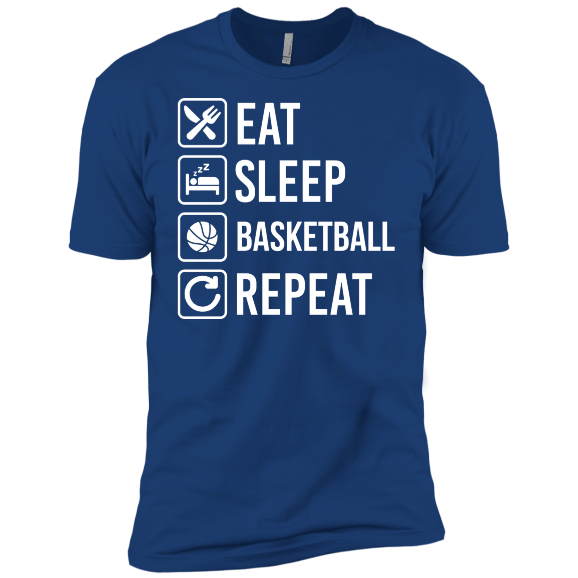 Basketball Eat Sleep Repeat T-Shirts and Hoodie - The Sun Cat
