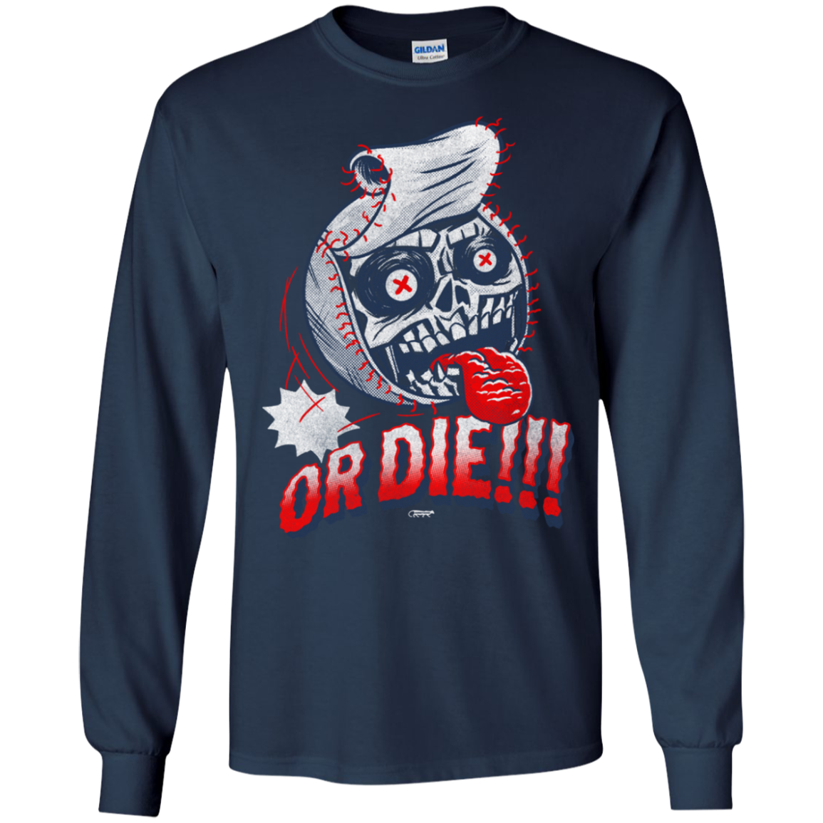 Baseball or DIE!!! T-Shirts and Hoodie - The Sun Cat