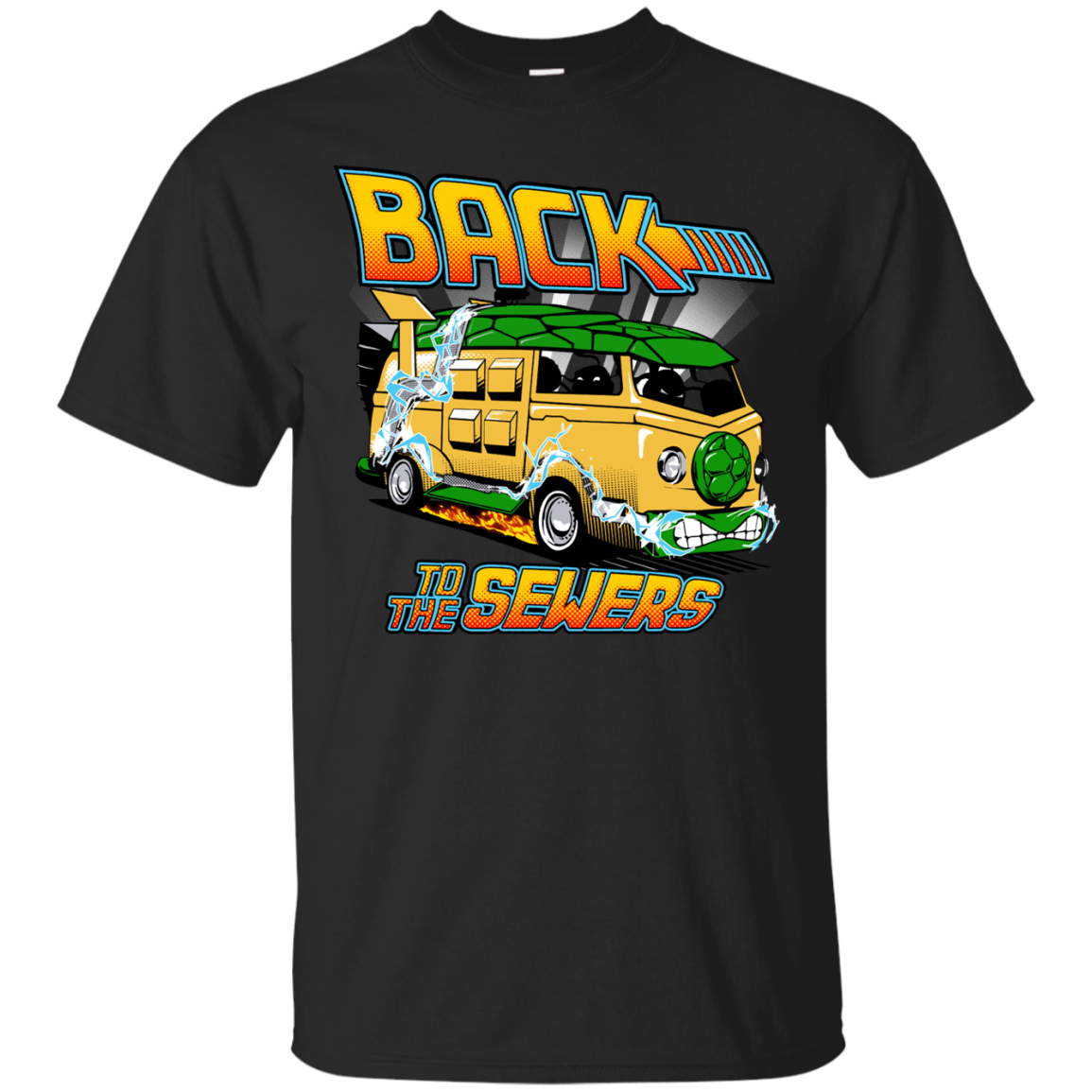 Back to the Sewers Teenage Mutant Ninja Squirtles T-Shirts