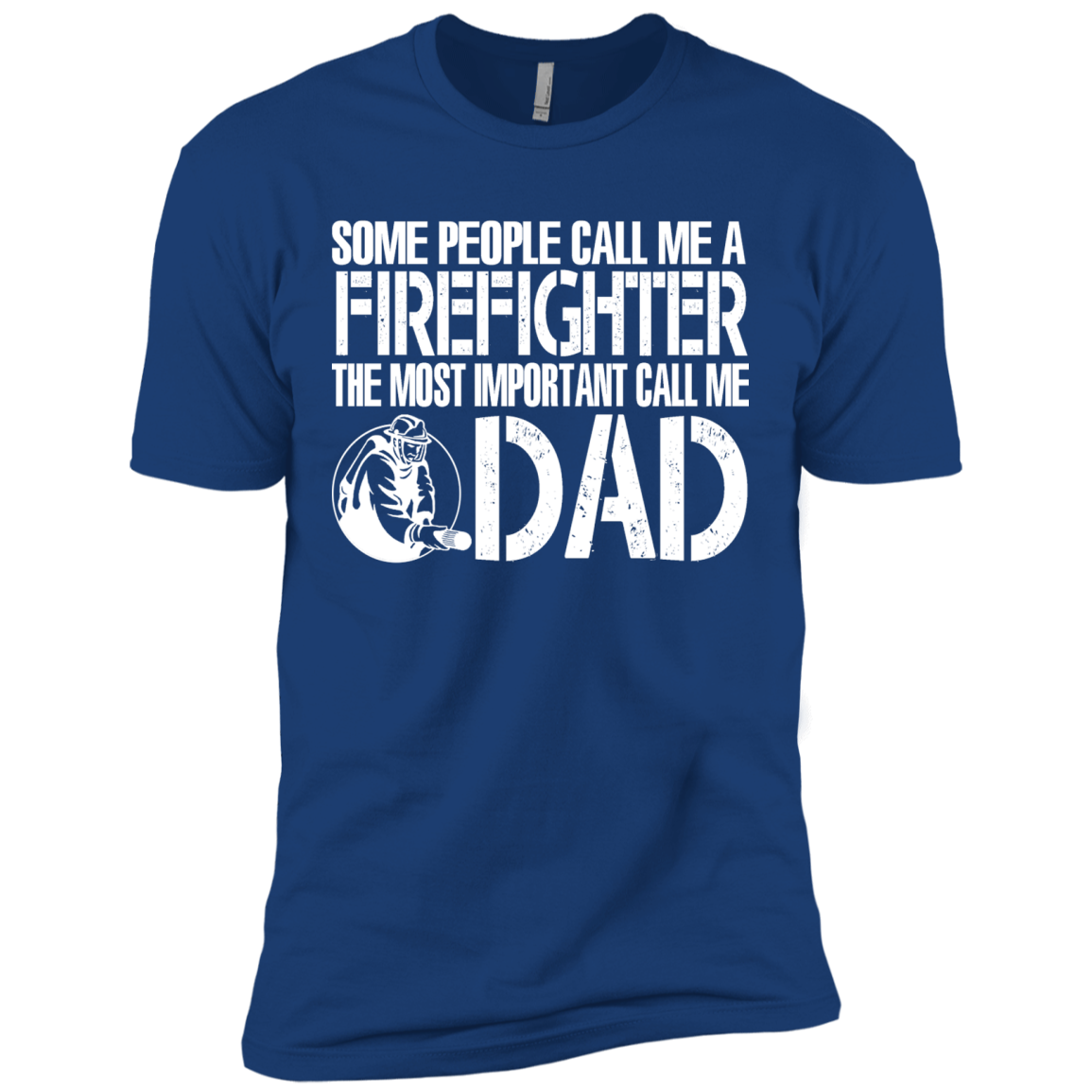 FIREFIGHTER DAD Matching Family T-Shirts - The Sun Cat