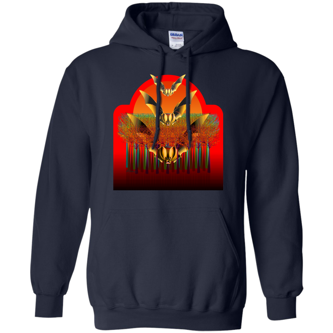 Bat Forest Sweatshirt T-Shirt & Hoodie - The Sun Cat
