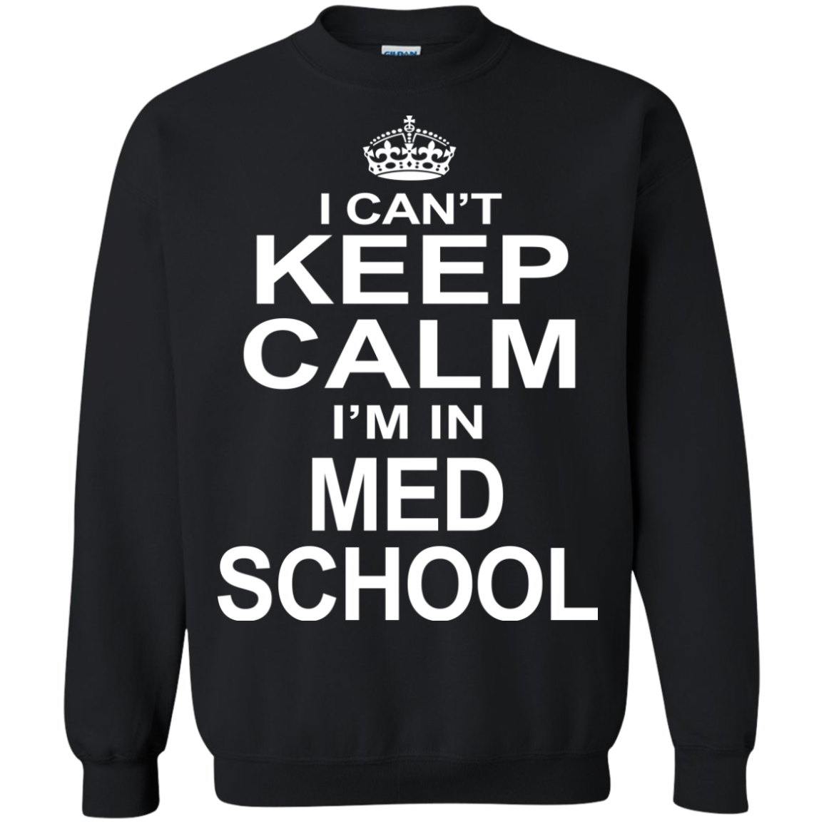 I Can't Keep Calm I'm In Med School - The Sun Cat
