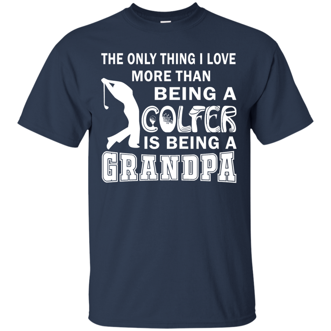 Grandpa Over Golf Matching Family T-Shirts - The Sun Cat