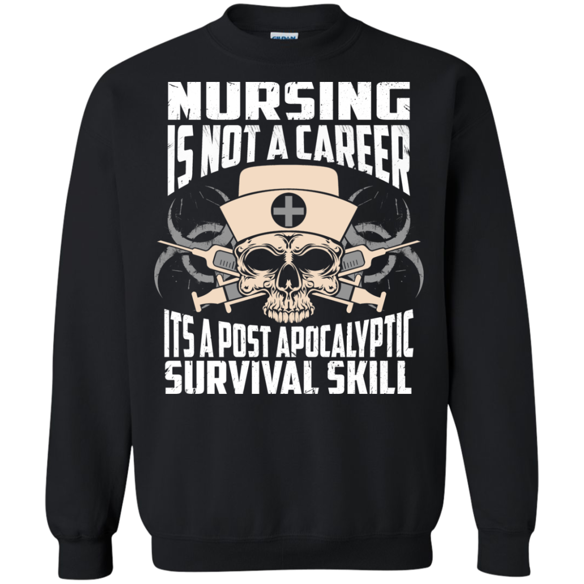 Nursing is NOt A Career it's a post apocalyptic Survival Skill - TheSunCat.com - 7