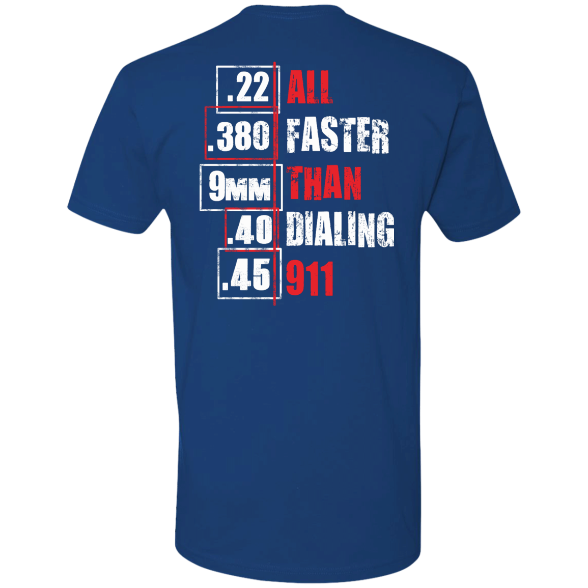 All Faster Than Dialing 911 Funny gun saying T-shirt & Hoodie - The Sun Cat