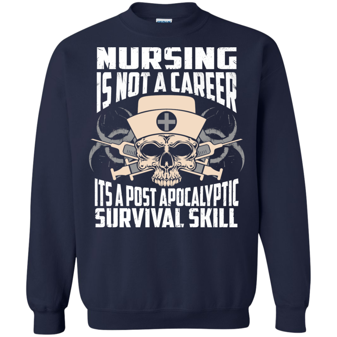 Nursing is NOt A Career it's a post apocalyptic Survival Skill - TheSunCat.com - 8