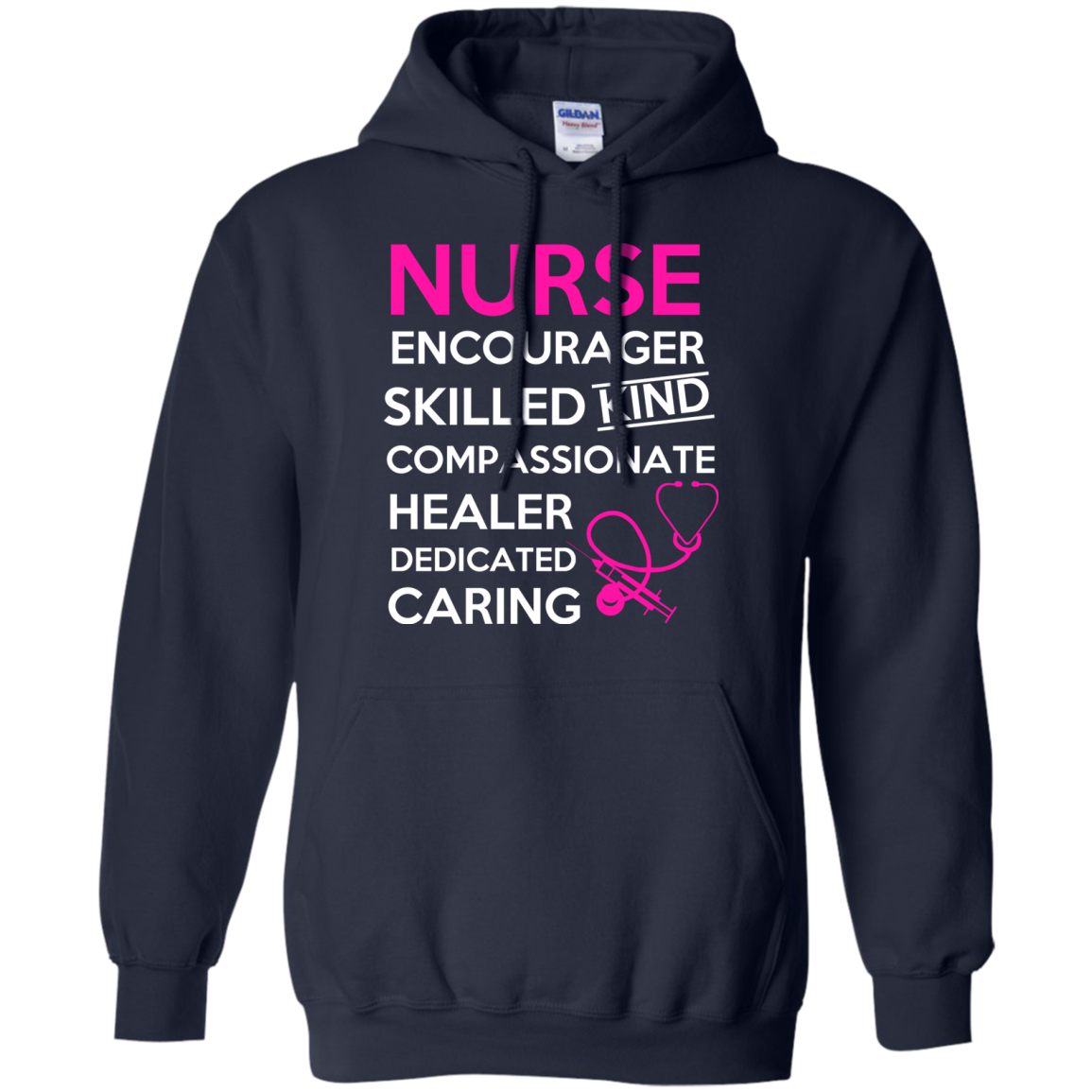 NURSE Encourager Skilled KIND Compassionate HEALER Dedicated CARING