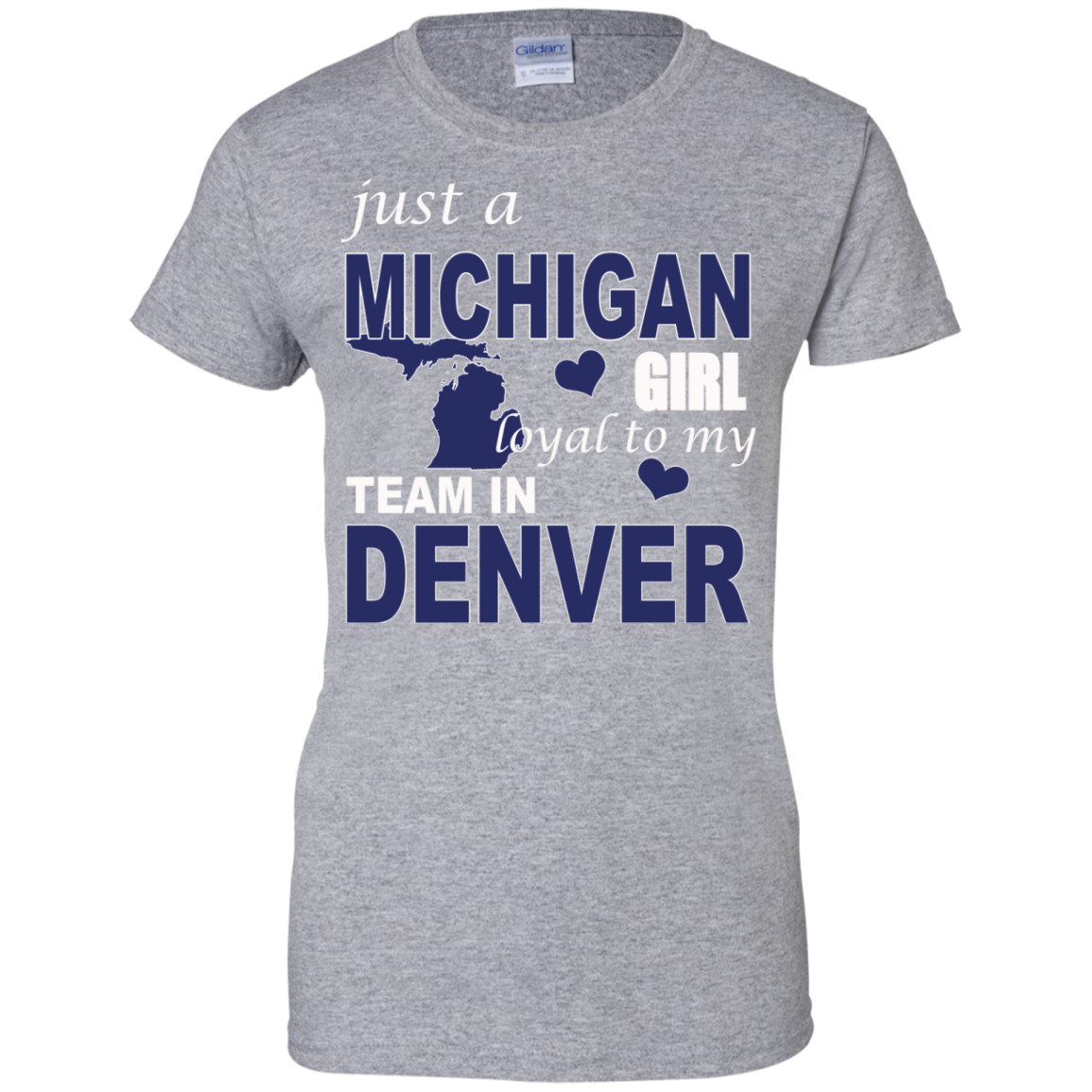 just a MICHIGAN Girl loyal to my Team in DENVER - The Sun Cat