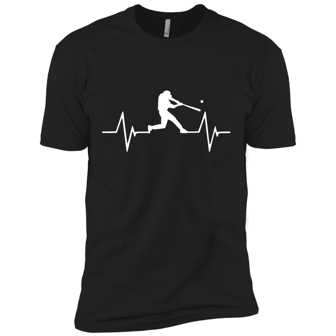 Baseball Heartbeat Love T-Shirts and Hoodie - The Sun Cat