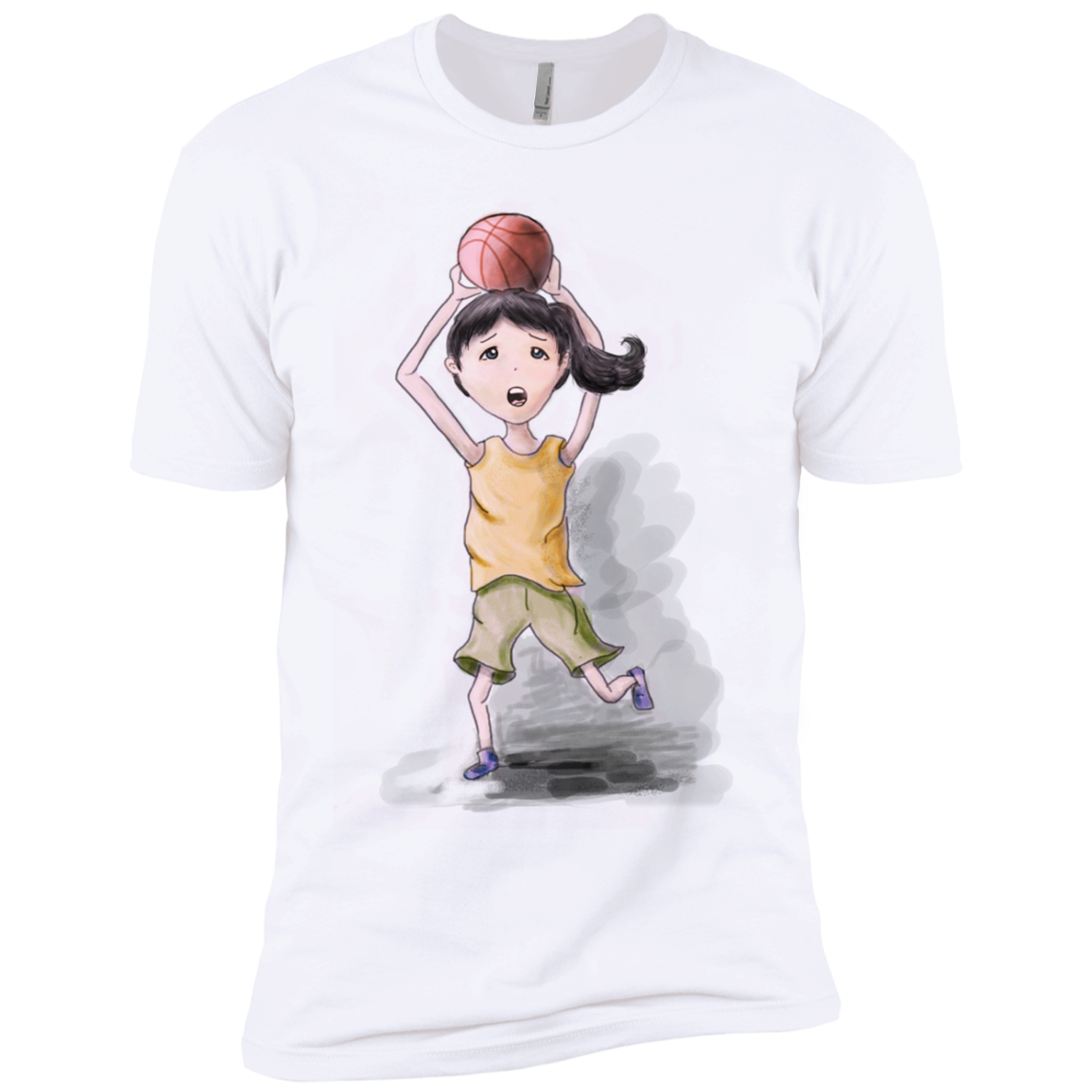 Basketball Girl T-Shirts and Hoodie - The Sun Cat