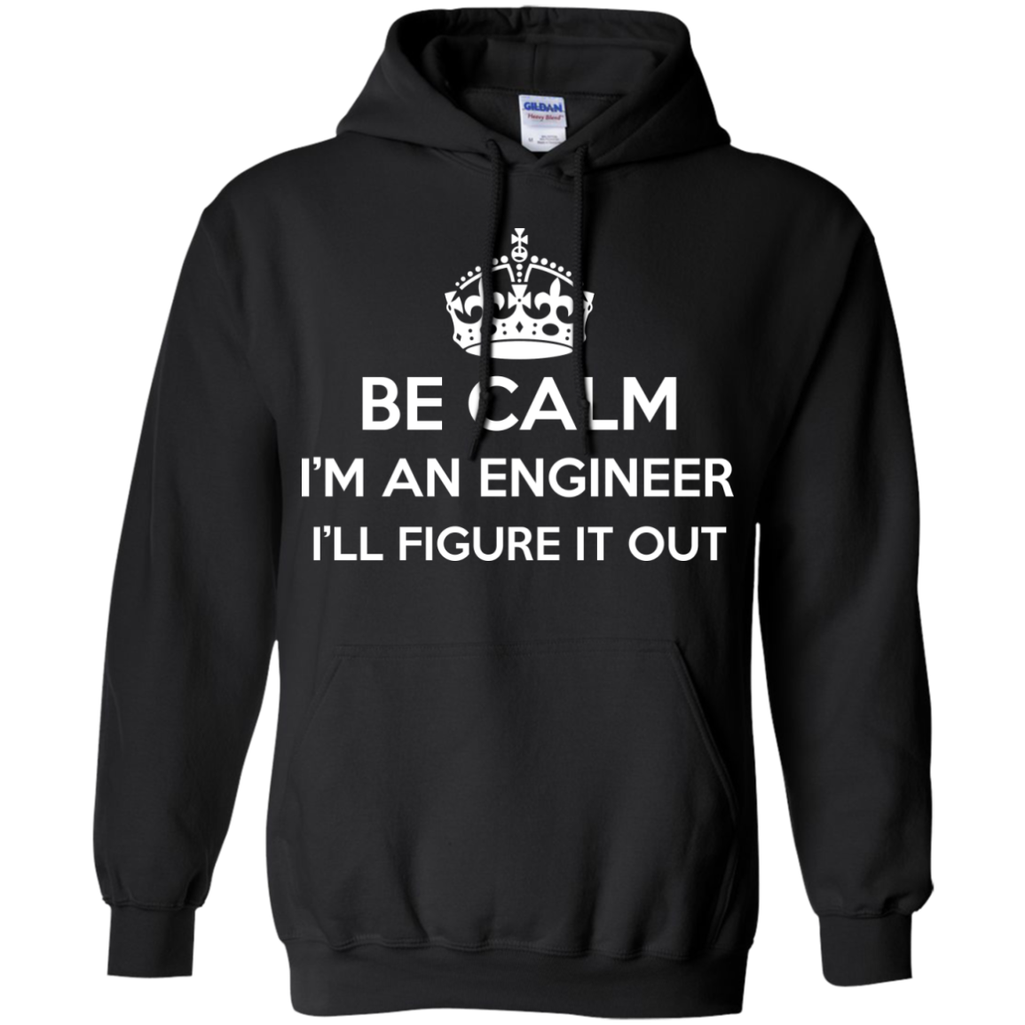 Be Calm I'm An Engineer I'll Figure It Out - The Sun Cat