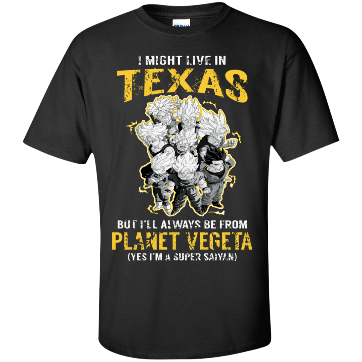 I Might Live In TEXAS But I'LL Always Be From Planet Vegeta(Yes I'm Super Saiyan)