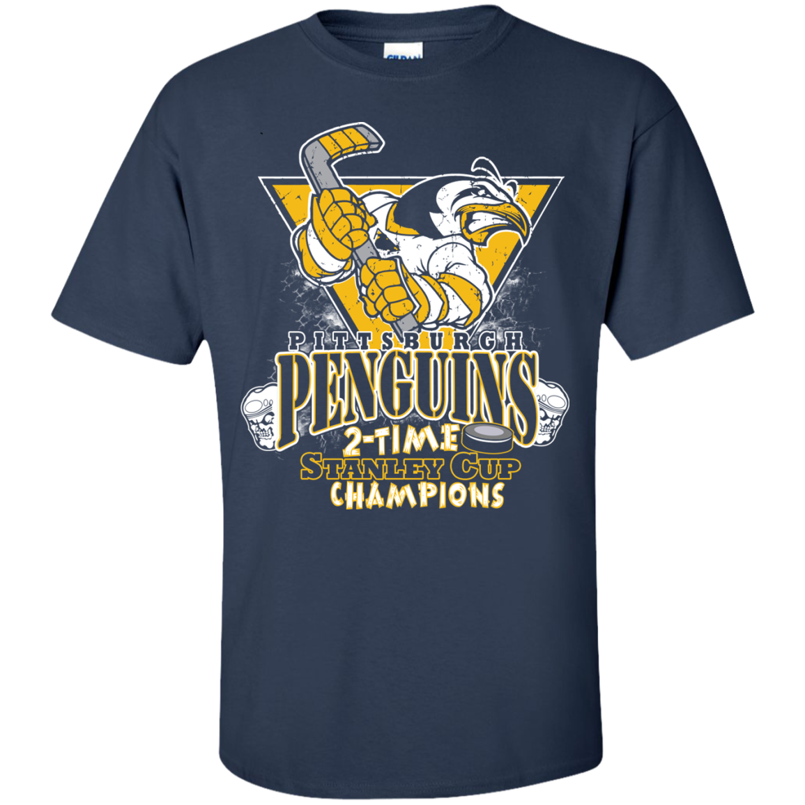Penguins 2 Time Stanley Cup Champions
