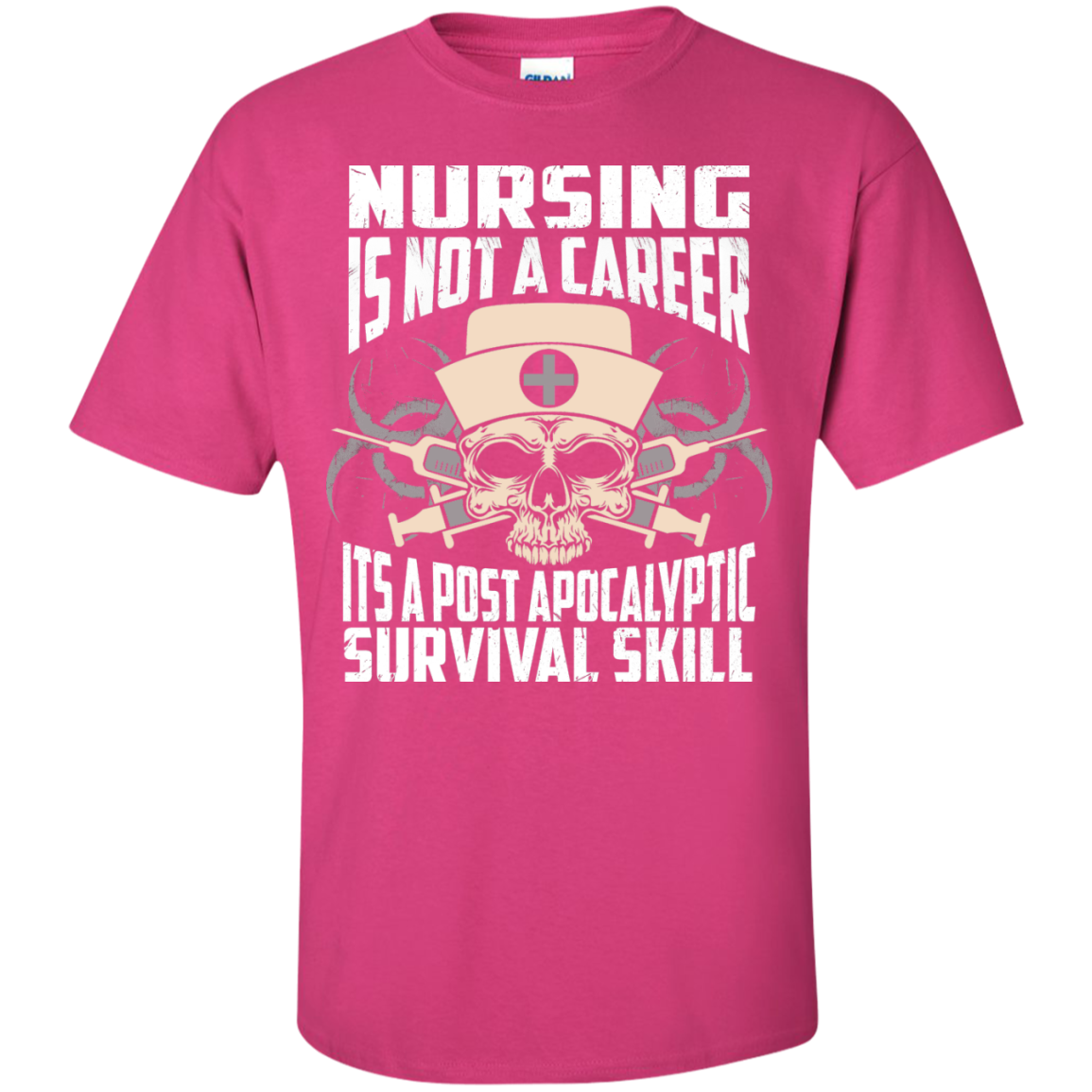 Nursing is NOt A Career it's a post apocalyptic Survival Skill - TheSunCat.com - 2