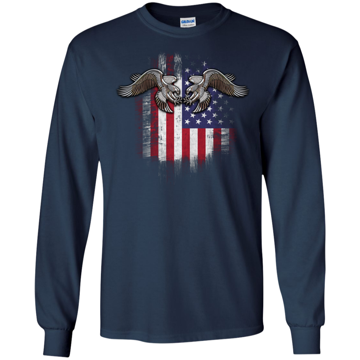 American twin eagles T-Shirts Funny Sports Shirt Football Tee - The Sun Cat