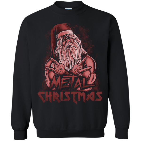 Ugly Christmas Sweaters Metal Christmas (Red) - The Sun Cat