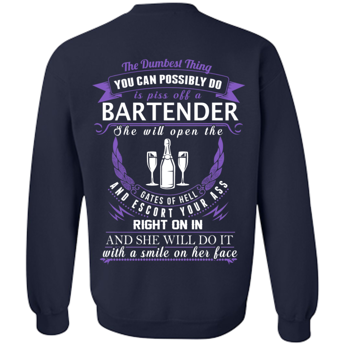 The Dumbest Thing...Bartender...With a smile on her face - TheSunCat.com - 7