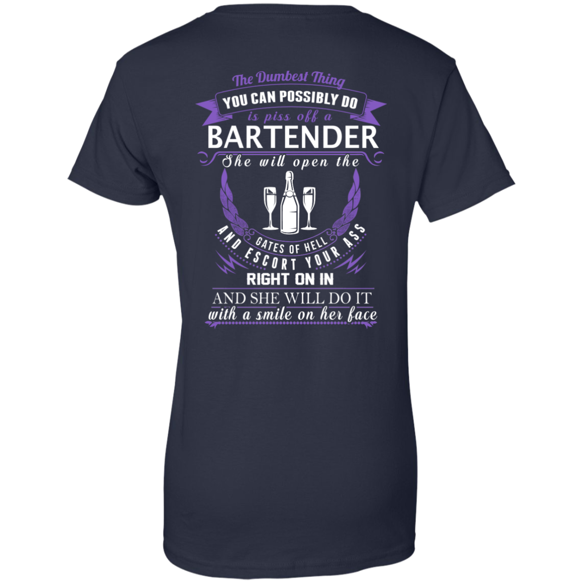 The Dumbest Thing...Bartender...With a smile on her face - TheSunCat.com - 12