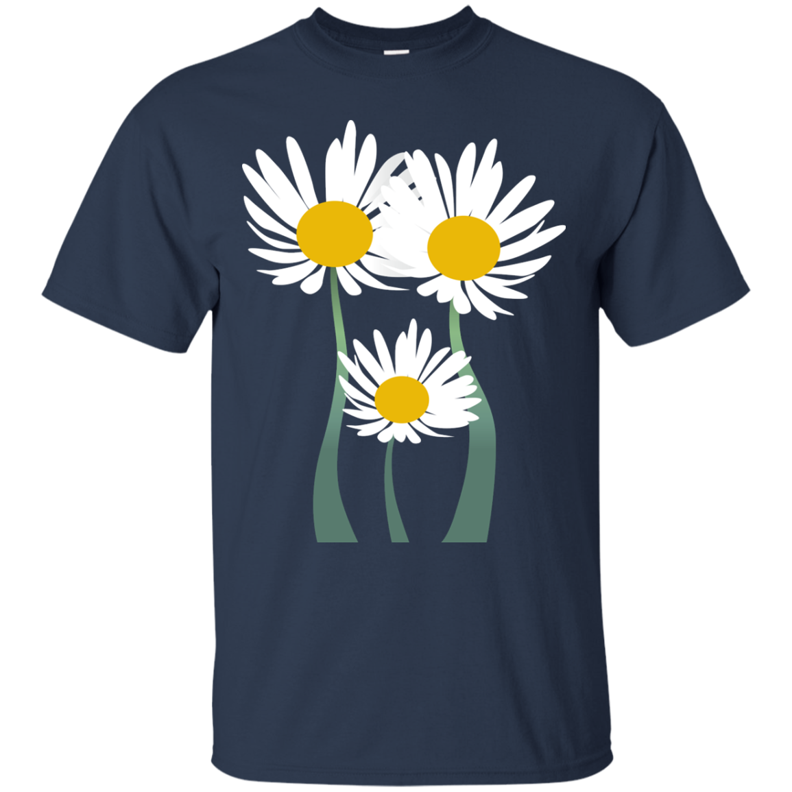 Daisies man. Daisies. Matching Family T-Shirts - The Sun Cat
