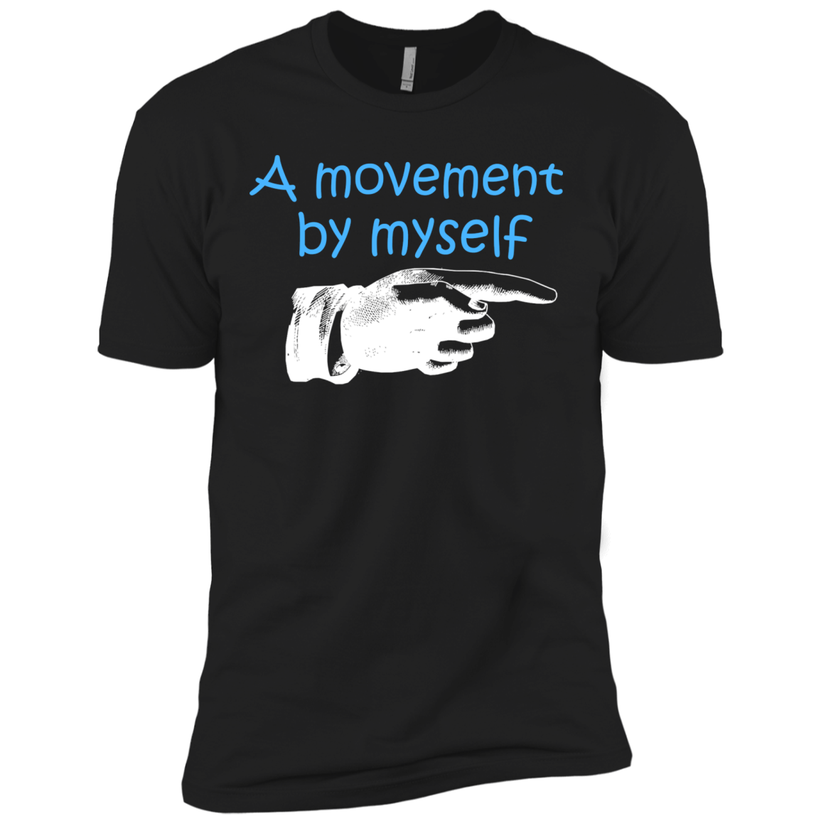 A MOVEMENT BY MYSELF T-Shirt & Hoodie - The Sun Cat