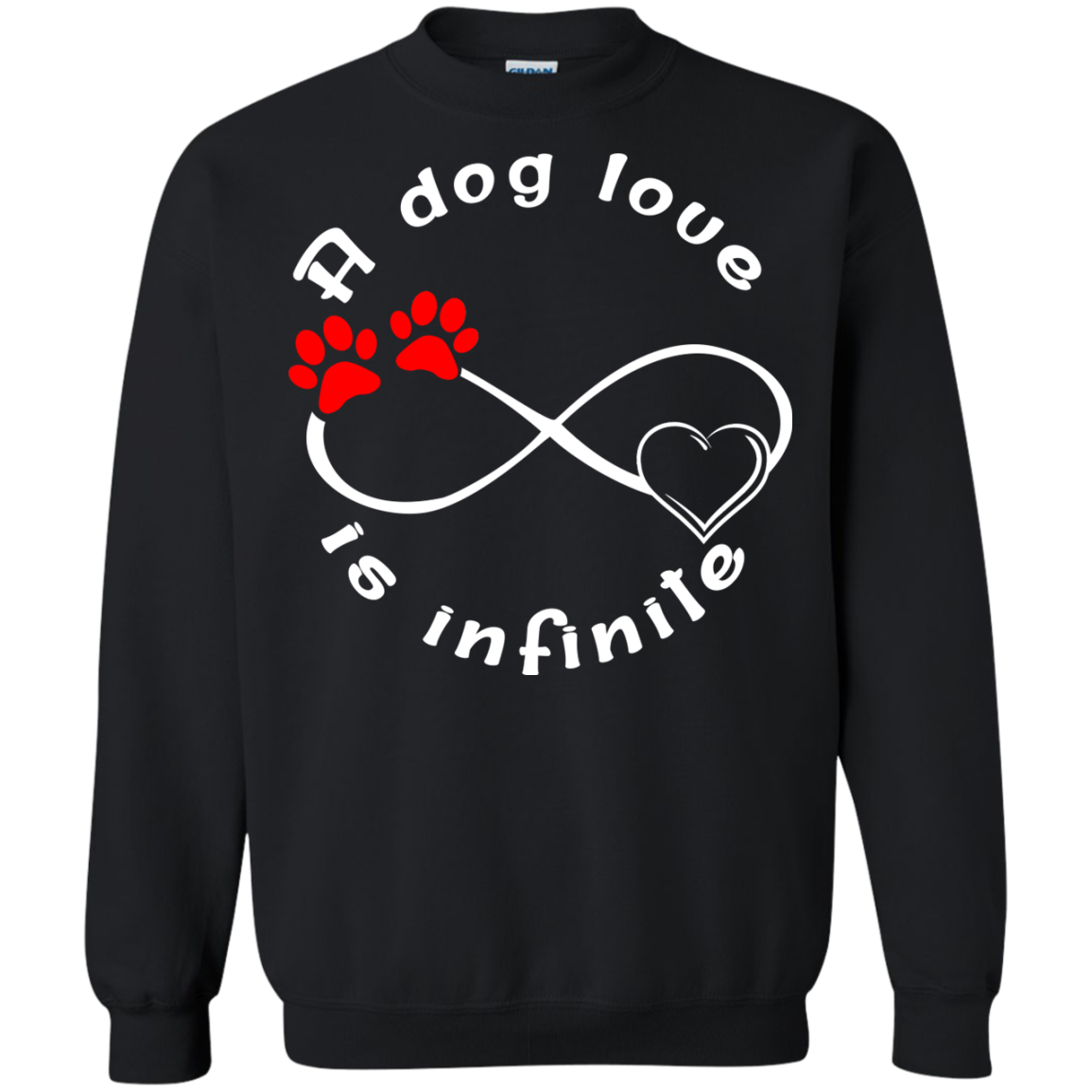 A Dog's Love Is Infinite T-Shirts - The Sun Cat